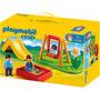 Playmobil 1.2.3, Parque Infantil .... En Magimundo !!!!!!