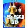 Blu Ray La Era De Hielo Tres 3 D Nuevo Cerrado Sm