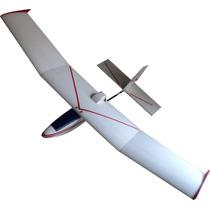 Kit Avion Lilu Listo Para Armar Motor Eléctrico Ala 1.2mts