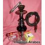 Narguile+ Regalos (tabaco+carbón+pinza) $350 Insumos Arabes