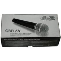 Micrófono Gbr 58 * Calidad Profesional * Gtía 2 Años *