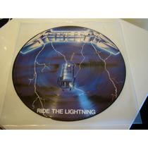 Metallica Ride The Lighting Picture Disc Lp Vinilo Nuevo