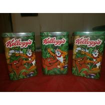 Lata Antigua De Cereales Kellogg