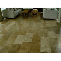 Marmol Travertino Rustico Placas De 0,30cm X 1 Metro