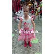 Disfraz Peppa Pig Chanchita Cerdita Regalo Vestido Peppa