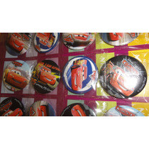 Souvenirs Prendedor Pin Personaje Infantil X10 Cars