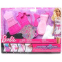 Barbie Fashion Desingn Mattel, Diseña Vestidos Para Barbie!