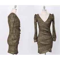 Vestido Corto Mujer Fiesta, Hermoso Diseño Elastizado Grueso