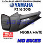 Cacha Bajo Asiento Yamaha Fz 16 Negro Mate Original Mg Bikes