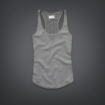 Musculosa Combinada Con Encaje,mujer Abercrombie Gilly Hicks