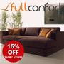 Sillon Esquinero Rinconero Sofa Living Linea Premium 2,50m