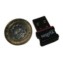 Adaptador Placa Nisuta Wifi Nano Usb Ns-wiu153n 150 Mbps