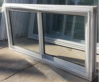 Ventana de 120x60 bca vidrio entero ideal para cocina for Cotizacion aluminio argentina