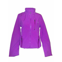 Campera Soft Shell Impermeable Mujer