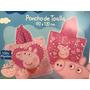 Poncho De Toalla Toallon Peppa Pig Piñata Almacén De Sonrisa