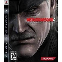 Espectacular Metal Gear Solid 4 Ps3 Español En Caja