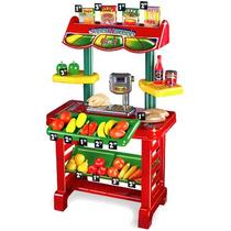 Supermercado Con 23 Piezas Y Balanza Rondi