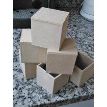 Cajitas De 9x9x9 De Fibrofacil X10 Unidades