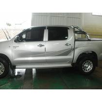 Juego De Calcos Originales Toyota Para Hilux 2010 En Adelant