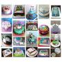 Torta Decorada - Cuadros Futbol- Deportes En Gral