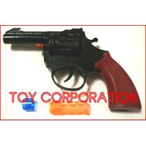 Revólver Juguete Tambor Ocho Disparos Cebita No Incluida Toy