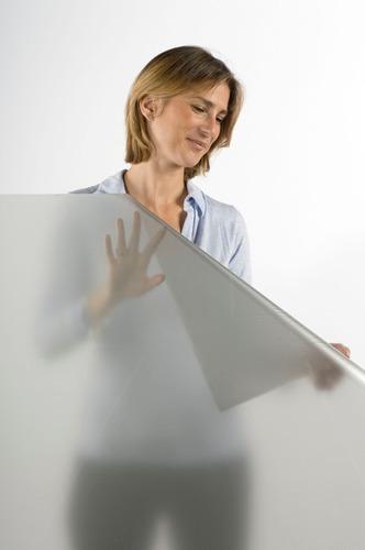 Papel vinilo esmerilado p vidrios 61cm x 1m 5 a os - Papel para vidrios ...
