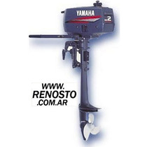 Motores Yamaha 2hp Pata Corta Entrega Inmediata! Renosto