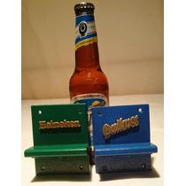 Destapador Abre Botellas Pared, Bar, Cervezas Acero