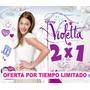 Kit Imprimible Violetta Diseña Tarjetas Y Más 2x1 Env Gratis