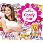 Kit Imprimible Candy Bar Violetta 4 En 1