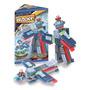 Bloques Blocky Transformers - Avion - Camion - Topadora -