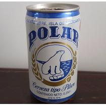 Mini Lata De Colección Cerveza Venezuela Polar