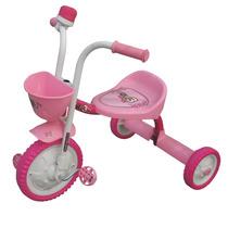 Triciclo Infantil De Aluminio Con Bocina Y Canasto Imperio
