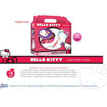 Linea Arte De Yeso De Kitty Candy Box