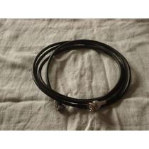 Cable Coaxil Rg-58 50 Ohm Con Conectores Bnc 3 Metros