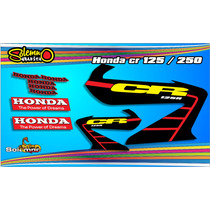 Calcos Honda Cr 125/250 Garantia De Por Vida