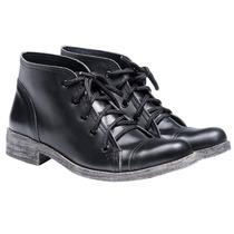 Borcego Borceguito Botita Mujer Zapatos Almacen De Cueros