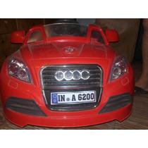Audi R8 Para Niño, Nuevo Sin Uso, Con Control Remoto