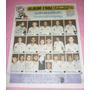Poster Figuritas Album Fulvence Solo Futbol Uruguay 1986