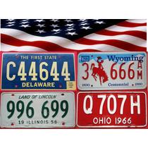 Antiguas Patentes Capicúas De Estados Unidos - Originales!!!
