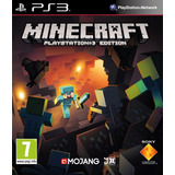 Minecraft Ps3 | Digital Español Oferta Tenelo Ya!