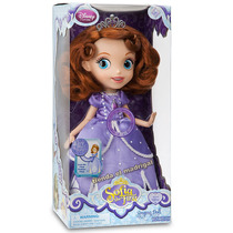 Princesa Sofia The First Canta!! 30cm Disney Store Usa Unica