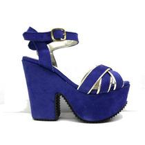 Zapatos Sandalias C/ Plataforma Modelo Rimini - Ultima Moda