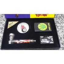 Kit Fumador Pipa + Encendedor+ Picador Metalico + Respuesto