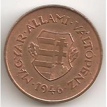 Hungria, 2 Filler, 1946. Post Guerra. Sin Circular