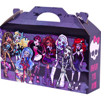 Monster High Souvenir Infantil Cajita Bolsita Golosinera
