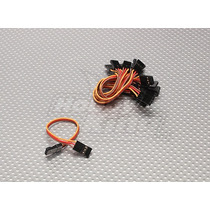Cable Para Servo Macho Macho 10 Cm- 26 Awg
