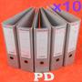 Bibliorato Archivador Carpeta Registrador Oficio A4 Pack 10