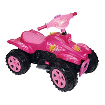 Cuatriciclo Electrico 6v Spiderman / Barbie Biemme