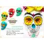 Calavera Mexicana, Pintadas A Mano, Diseños Únicos! Calacas